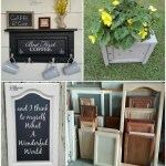 Repurposed Cabinet Door Project Ideas