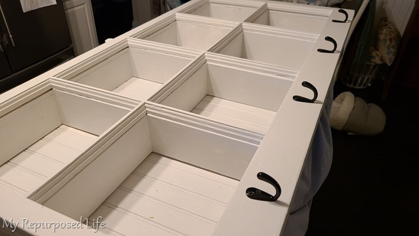 black coat hooks shadow box hook shelf