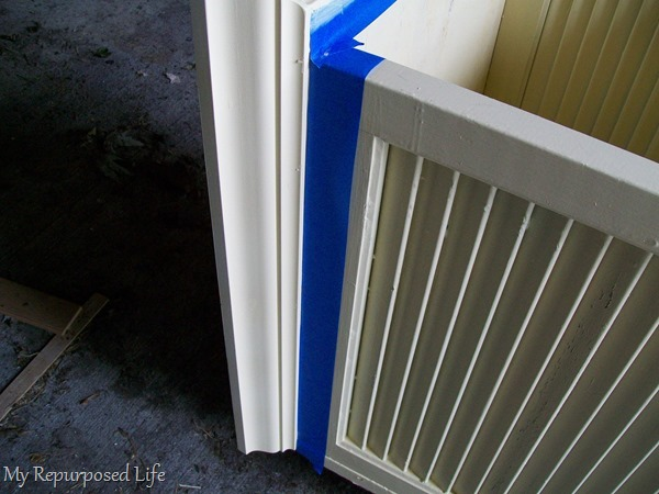 using painters tape for painting trim