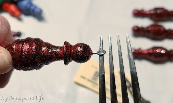 fork tine turns eye screws