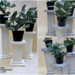 Chunky Pedestals Candle Plant Holders