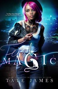 Cover Reveal Feral Magic by Tate James
