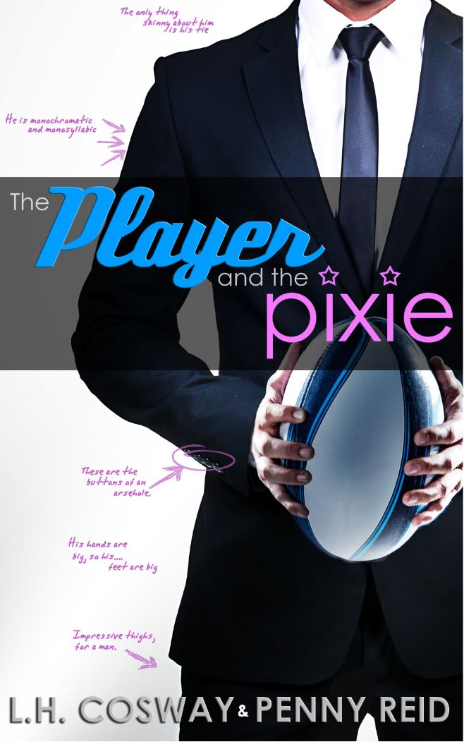 The Player and the Pixie (Rugby #2) by L.H. Cosway & Penny Reid
