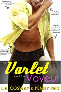 The Varlet and the Voyeur (Rugby #4) by L.H. Cosway & Penny Reid