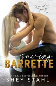 Saving Barrette by Shey Stahl