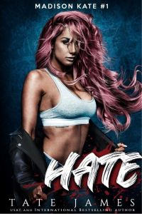 Book Review HATE by Tate James