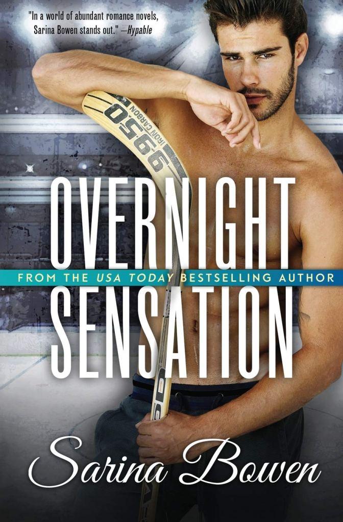 Overnight Sensation (Brooklyn Bruisers #5) by Sarina Bowen