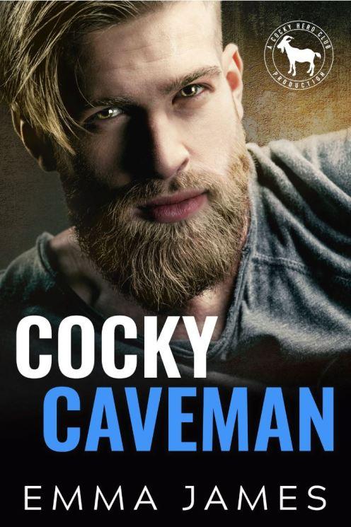 Cocky Caveman by Emma James