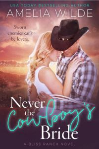 Never the Cowboy's Bride by Amelia Wilde