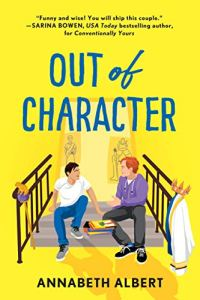 Cover Reveal Out of Character by Annabeth Albert