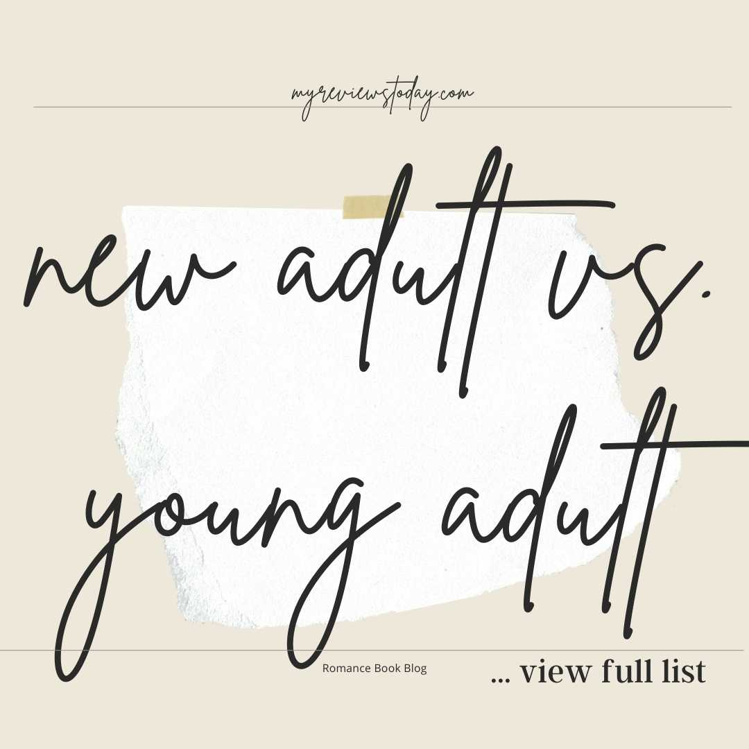 new adult vs. young adult