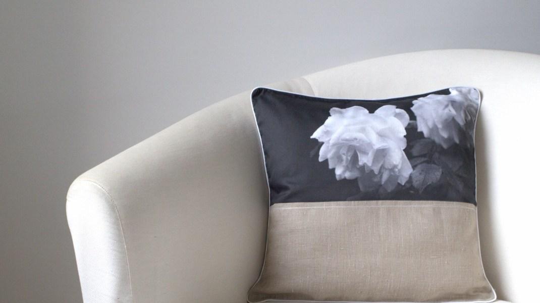 Kissen auf Sessel