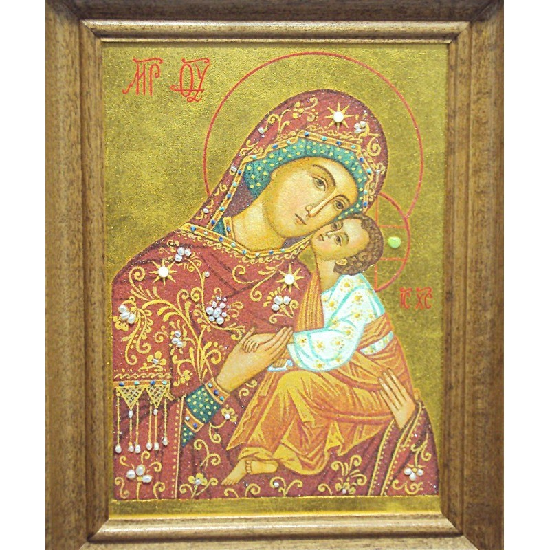 ICONA Madonna con bambino  Myriam Arte Sacra