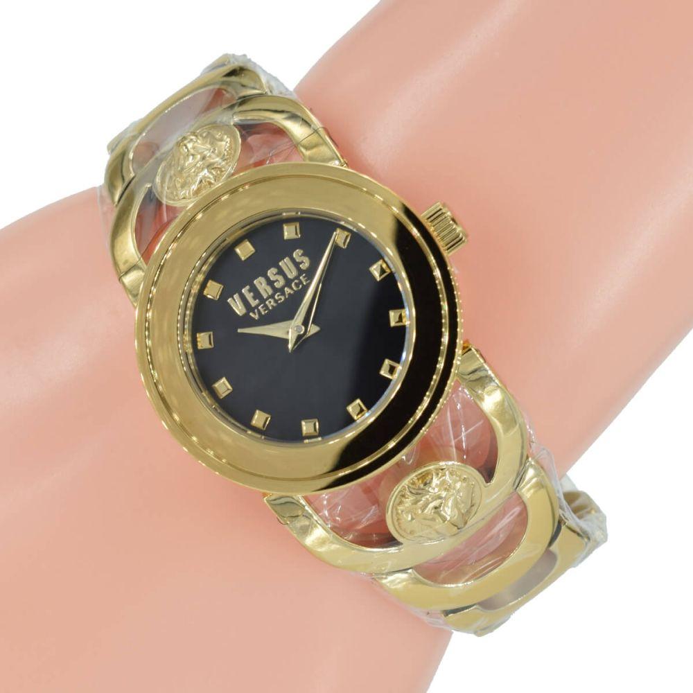 Versus Versace Damen Uhr SCG090016 Gold Ring Edelstahl