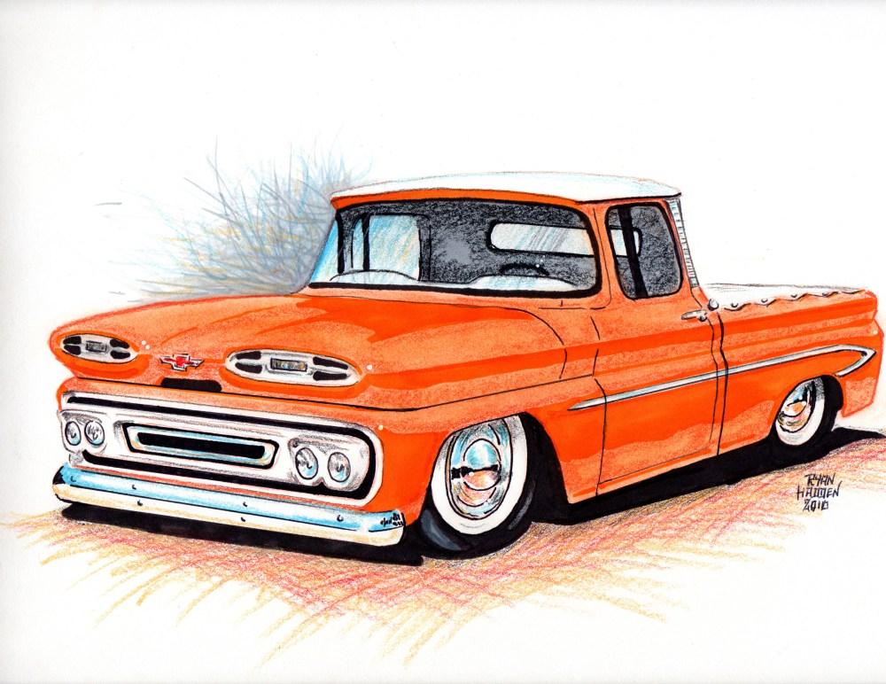 medium resolution of 1961 apache truck sketch