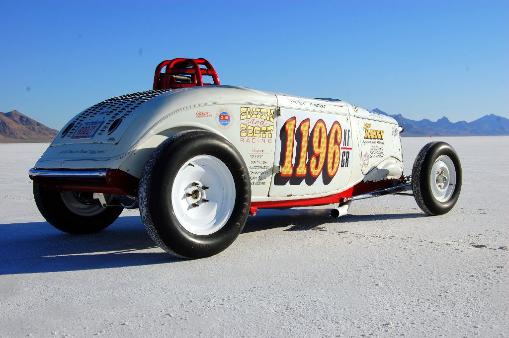Bonneville Speed Week 2010 1199 Roadster, land speed racing