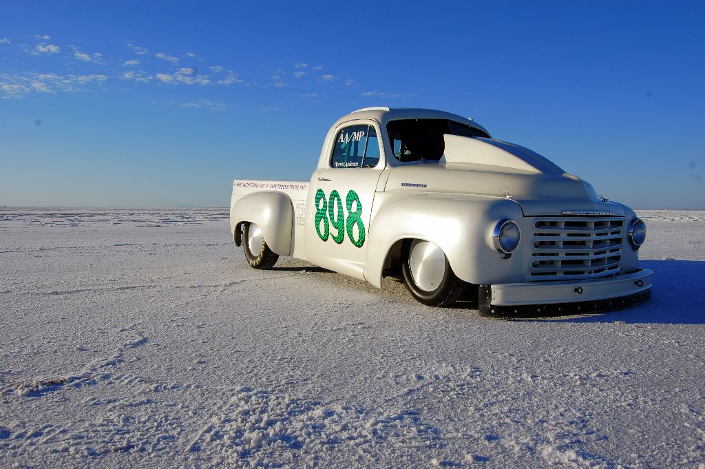 Speed Week 2010, Studebaker Truck at Bonneville Speed Week, land speed racing,