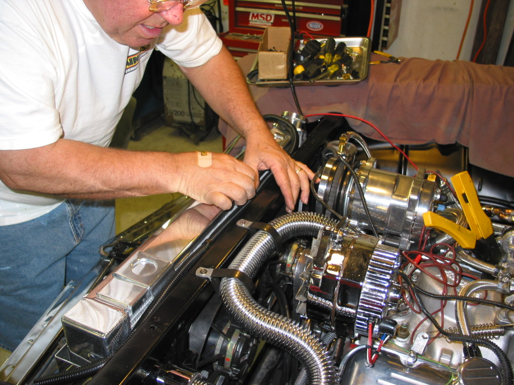 painless wiring installation instructions club car no spark troubleshooting 1956 chevy belair install how to