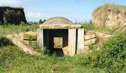 a tumba de frente