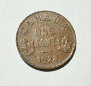 Canada 1923 Penny