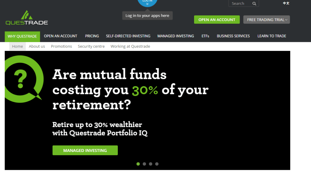 how to open a Questrade Account
