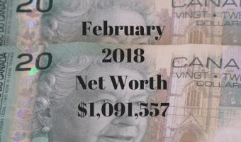 February 2018 Net Worth Update $1,091,557