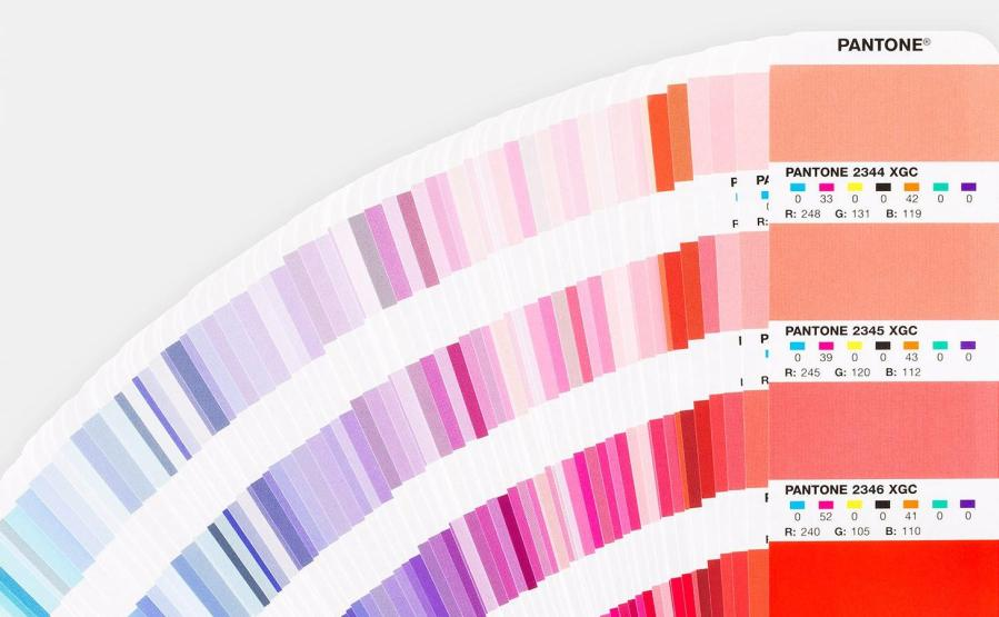 Image of Pantone Color Swatches