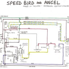 Cdi Ignition Wiring Diagram Soap Bubble Structure Or Drawing Honda Hobbit Moped Get Free Image