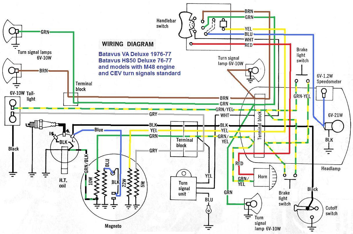 hight resolution of honda hobbit moped cdi wiring diagram get free image