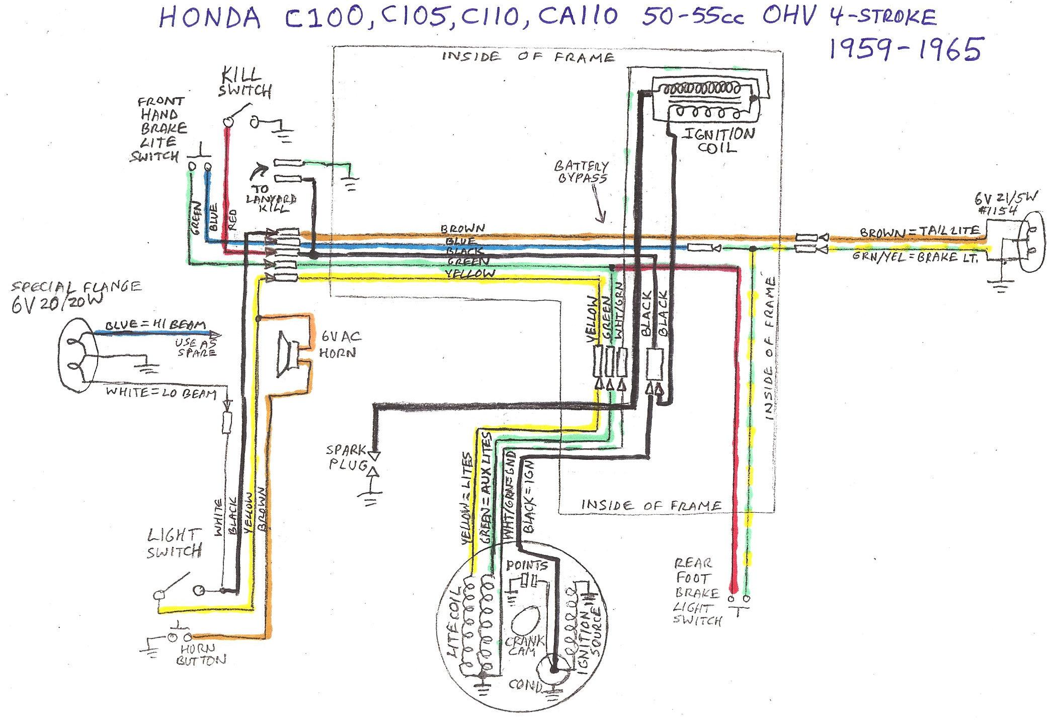 1977 honda cb750 wiring diagram