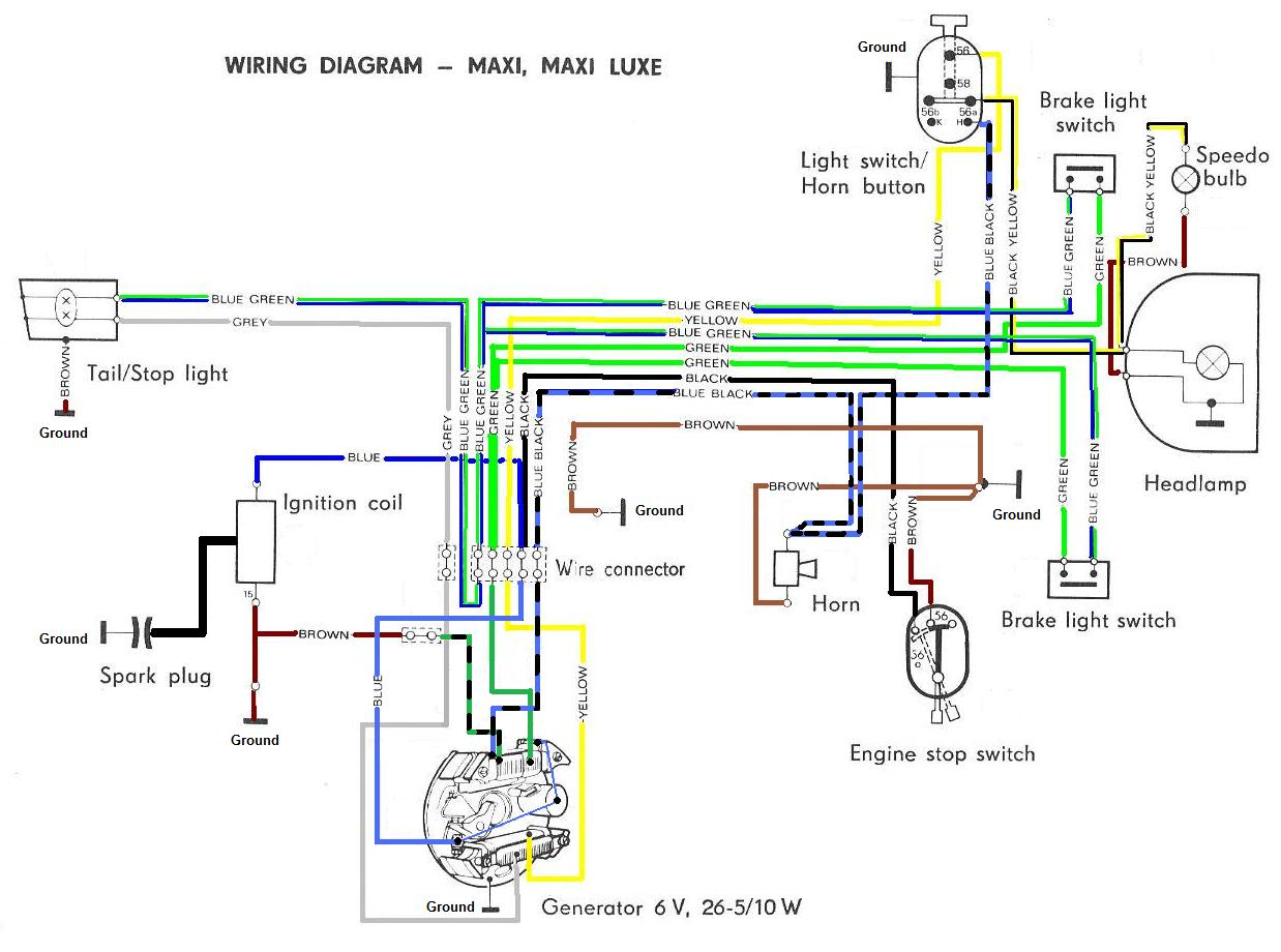 puch maxi wiring diagram kenwood ddx419 1977 moped free engine image