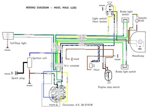 small resolution of 1973 suzuki wiring diagram basic electronics wiring diagram1973 suzuki wiring diagram wiring diagramsuzuki ts250 diagram 4