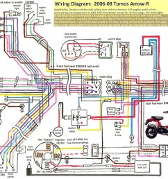 tvs motorcycle wiring diagram wiring librarytomos arrow r 2006 08 tomos wiring diagrams [ 1070 x 818 Pixel ]