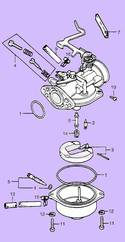 hight resolution of keihin 1978 83 honda pa50 carburetor illustration