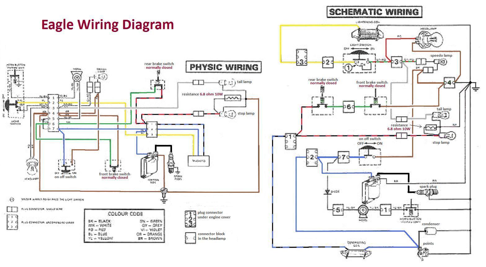 Eagle Wiring Diagram1 1995 yamaha blaster parts diagram