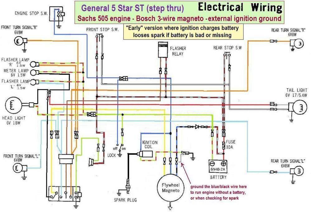 medium resolution of wiring diagrams u00ab myrons mopeds
