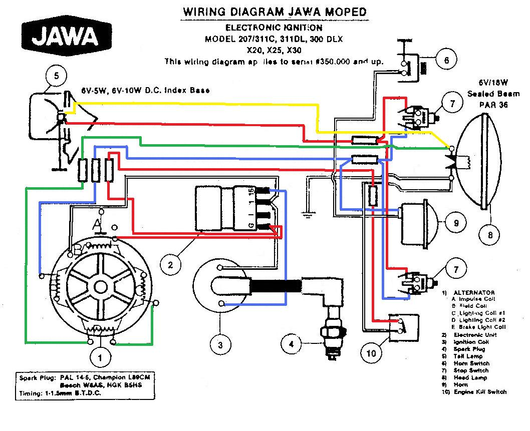 peugeot 207 wiring diagram 2001 toyota corolla audio diagrams  myrons mopeds