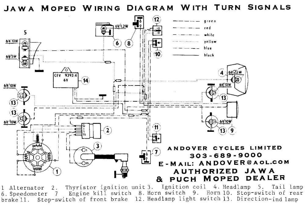 medium resolution of wiring diagrams u00ab myrons mopeds signal stat 900 wiring diagram turn signal relay wiring diagram