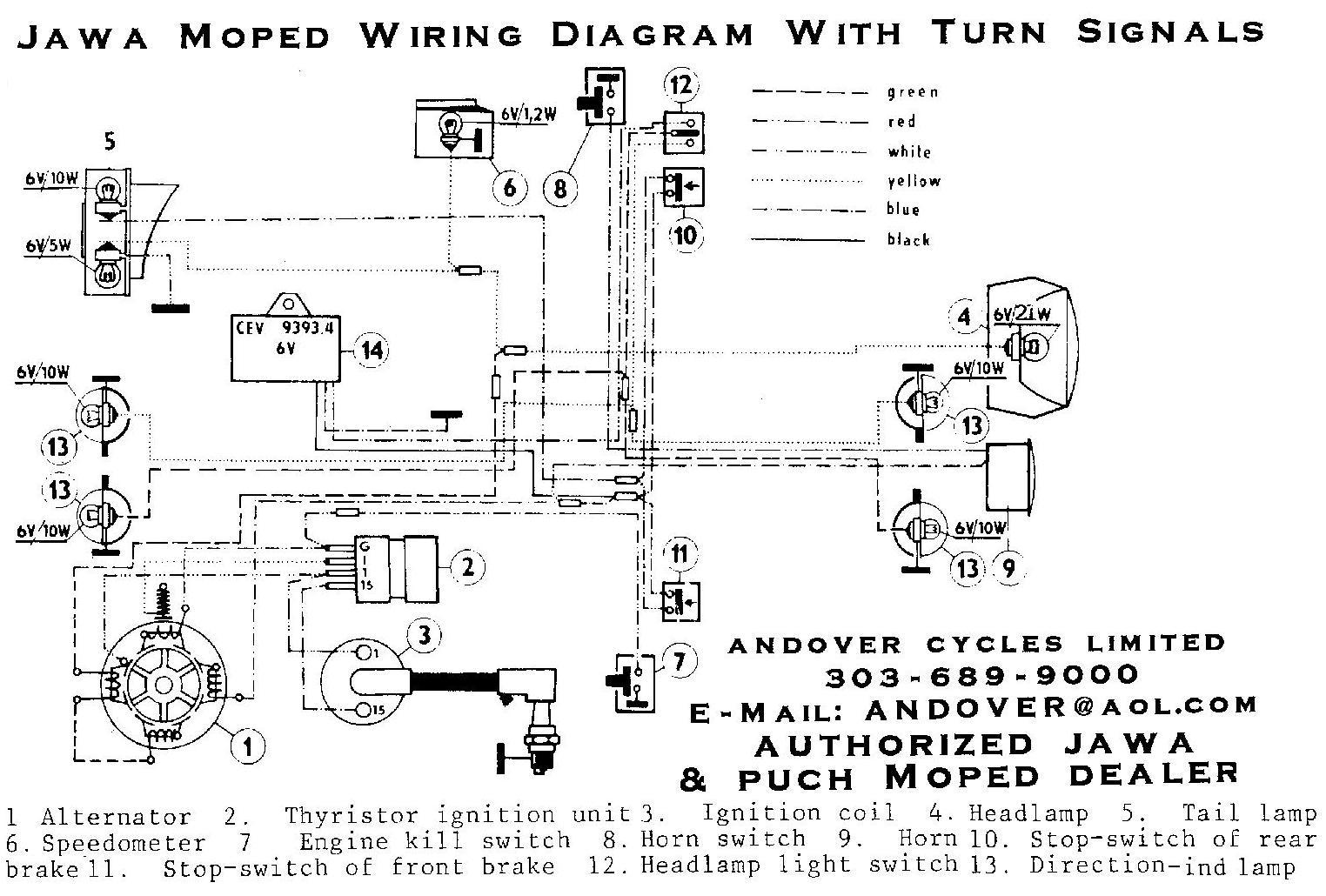 hight resolution of wiring diagrams u00ab myrons mopeds signal stat 900 wiring diagram turn signal relay wiring diagram