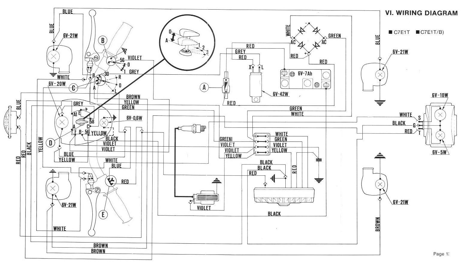 vespa lx wiring diagram