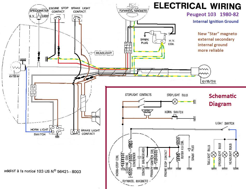 moped ignition wiring diagram 6 wire cdi box diagram moped ignition wiring diagram #49