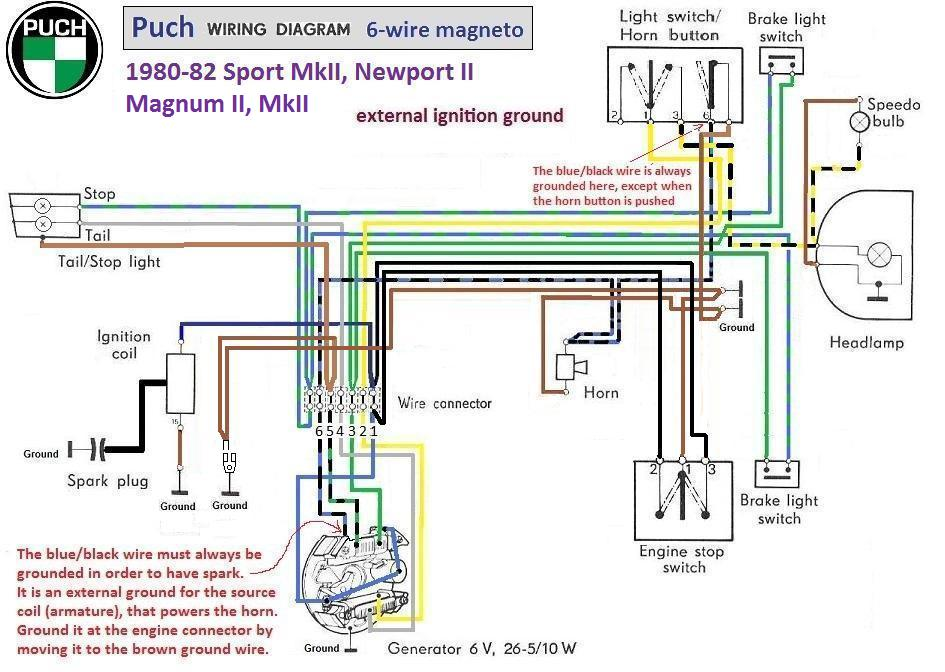 1977 puch maxi moped wiring diagram 1977 puch manual