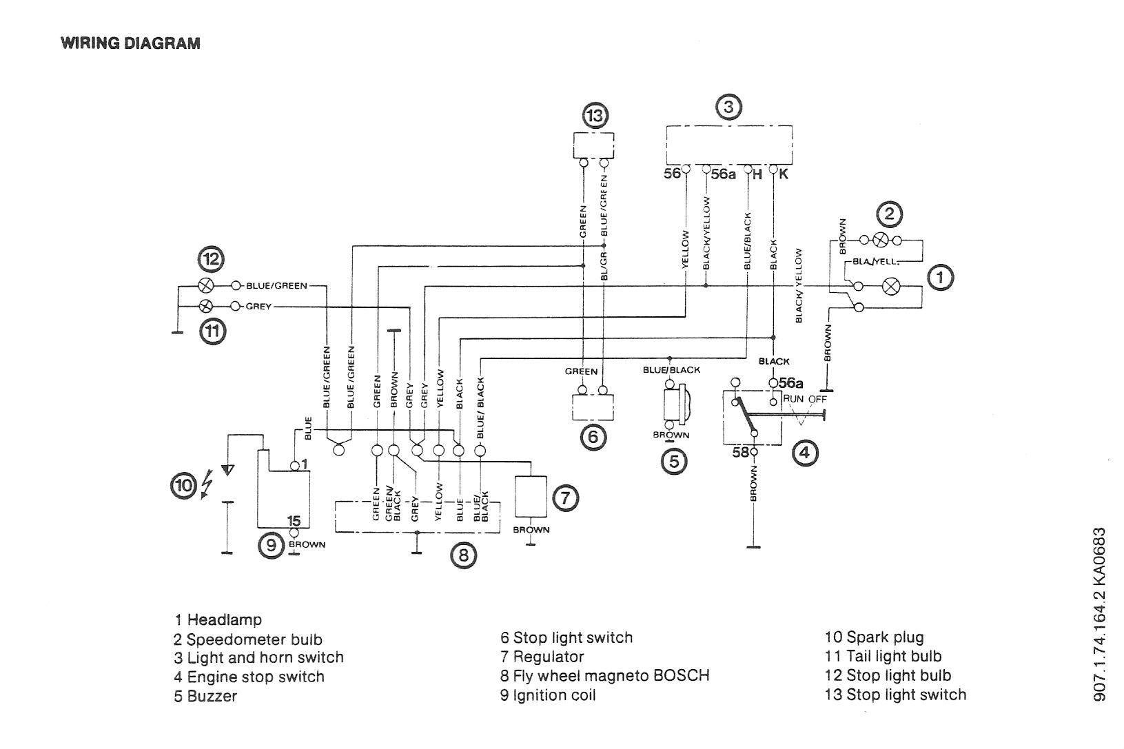 puch maxi wiring diagram newport free engine image for 2006 scion xb