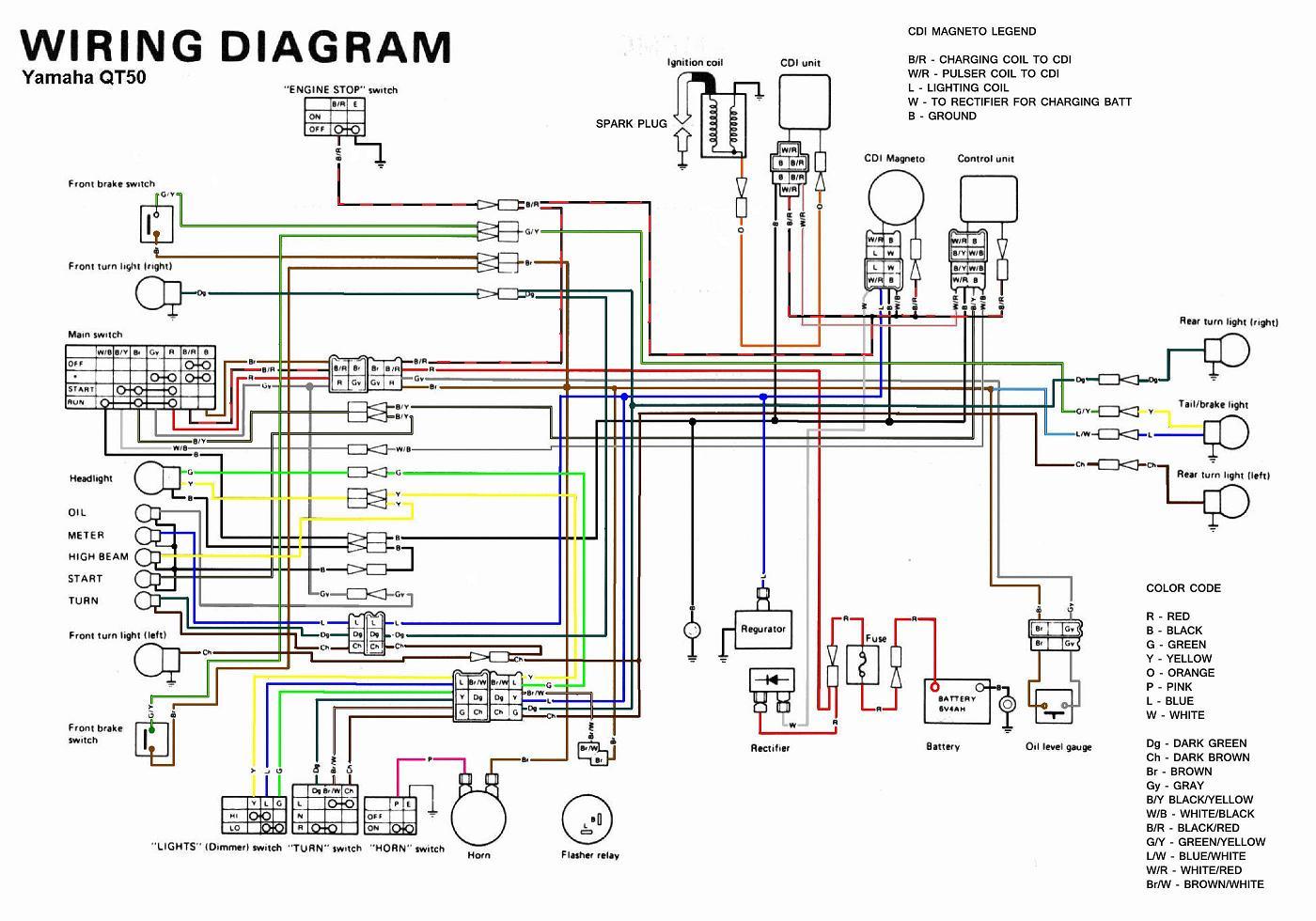 Yamaha QT50 Wiring Diagram?resize=640%2C448 1977 yamaha dt 250 wiring diagram hobbiesxstyle yamaha 1978 dt 125 wiring diagram at nearapp.co