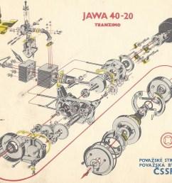 jawa tranzimo 40 automatic moped engine [ 1604 x 1388 Pixel ]