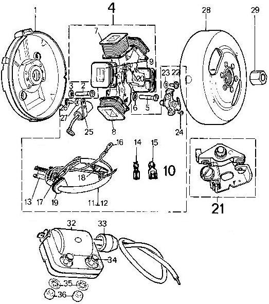 peugeot 103 moped wiring diagram