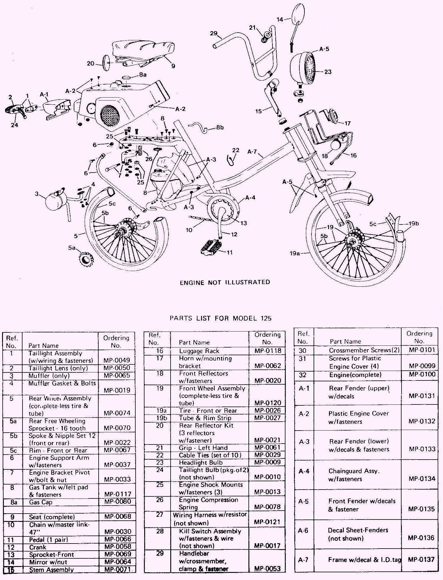 bicycle wiring diagram how to wire a rotary isolator switch amf mopeds « myrons