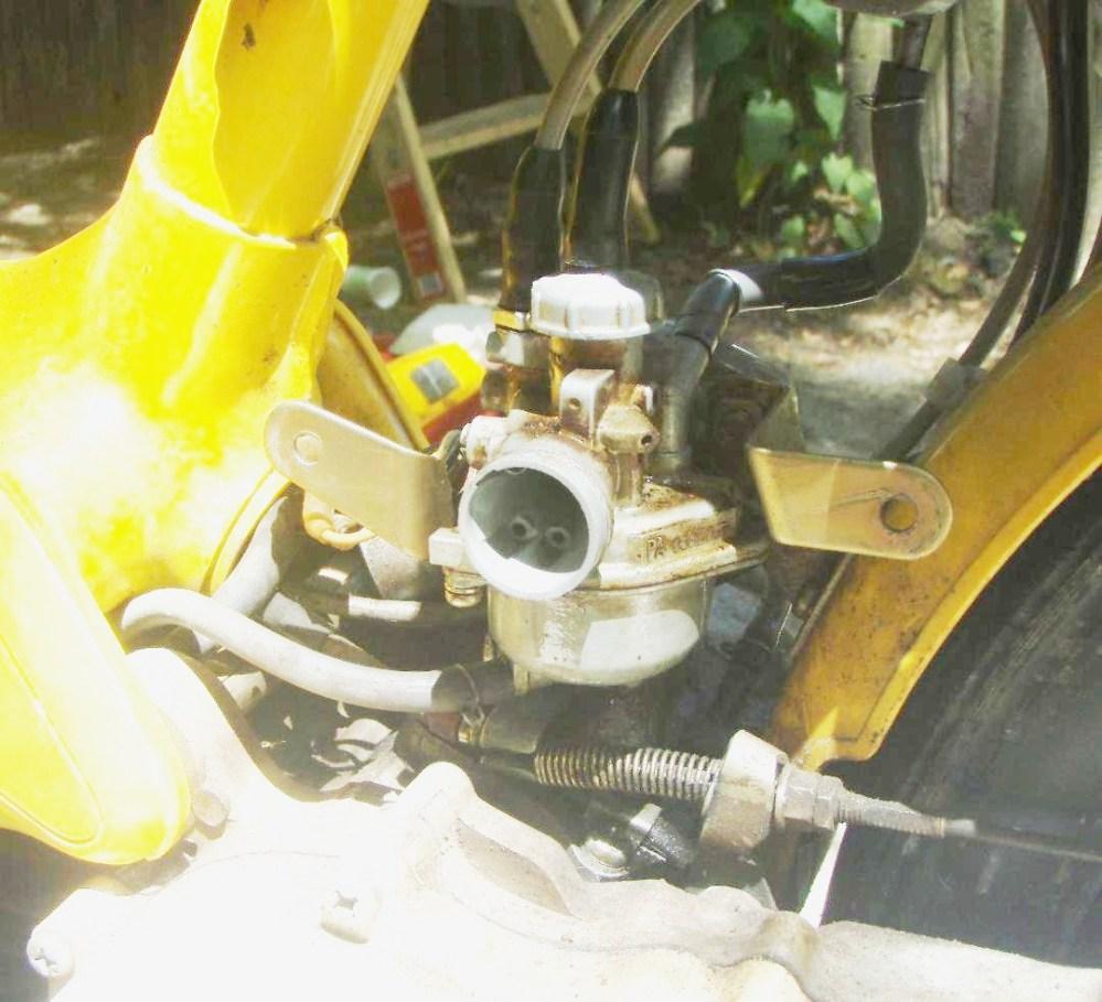 medium resolution of honda 1977 80 nc50 carb installed