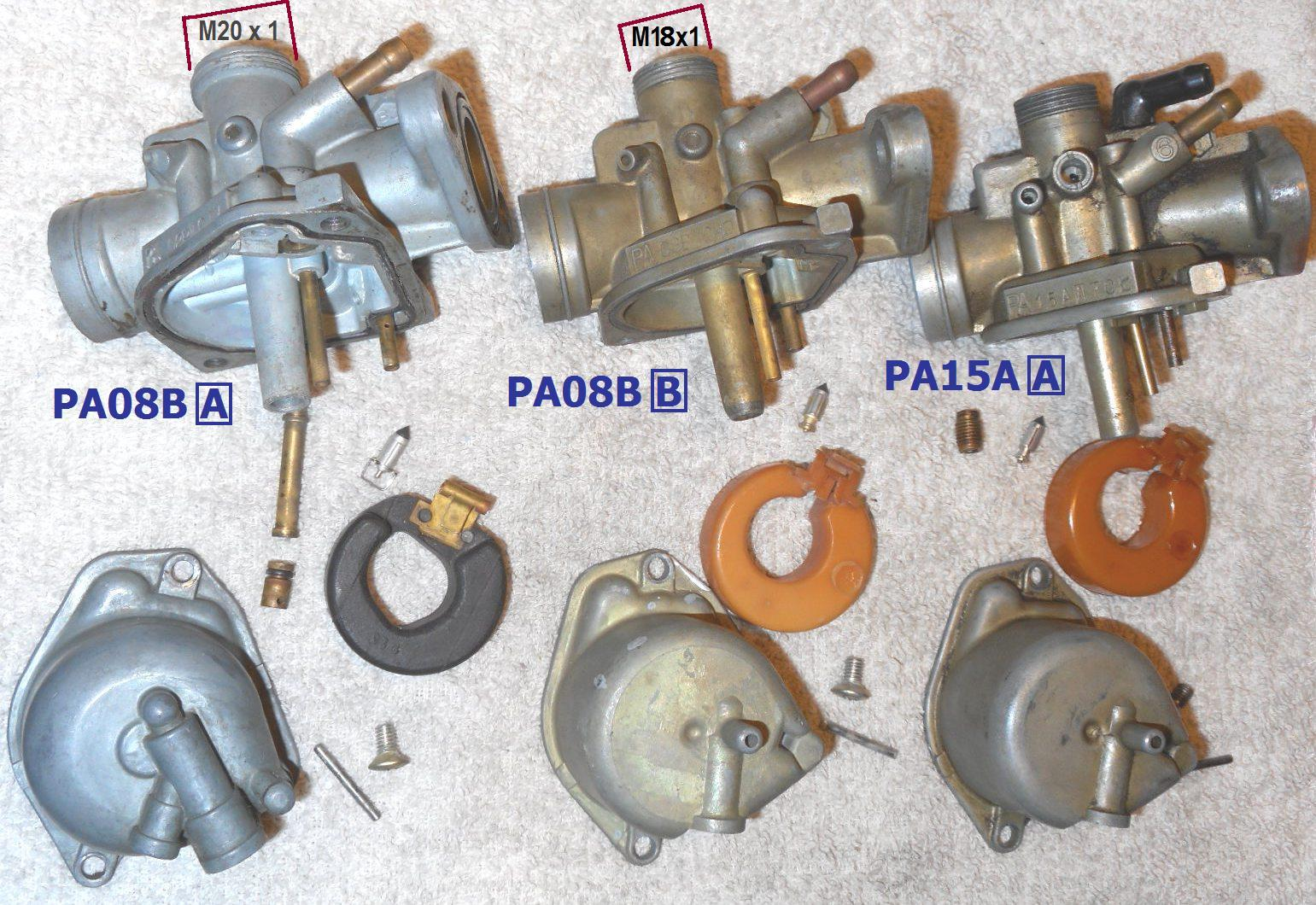 hight resolution of honda express carburetor versions showing things that are different