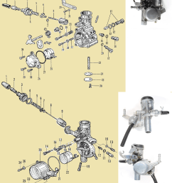 honda p50 carburetors top 50a bottom 50b [ 1040 x 1318 Pixel ]